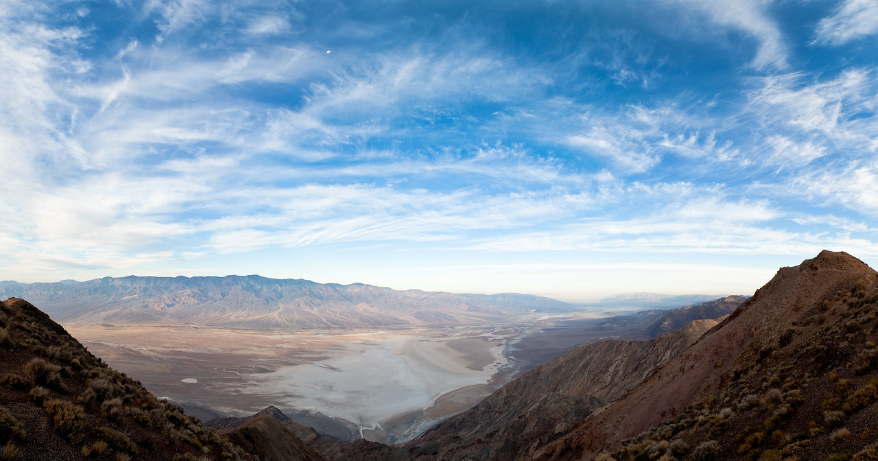Dante's View, looking out over Death Valley 2009