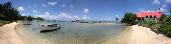 Mauritius, der Strand bei Mal Heureux