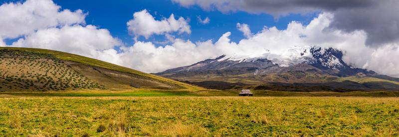 Antisana Mountain.