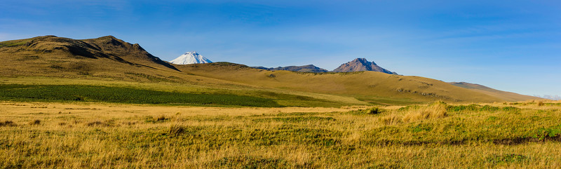 Cotopaxi Volcanic Mountain.