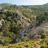 Wanderung zum Wasserfall Piscia di Ghjaddu, L´Ospedale, Korsika, Frankreich