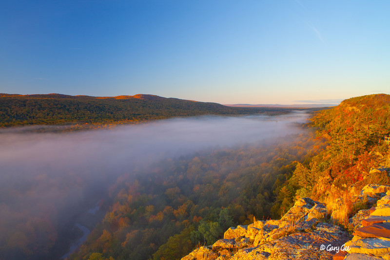 Lake of the Clouds Sunrise, Porcupine Mountains Upper Peninsula, Michigan