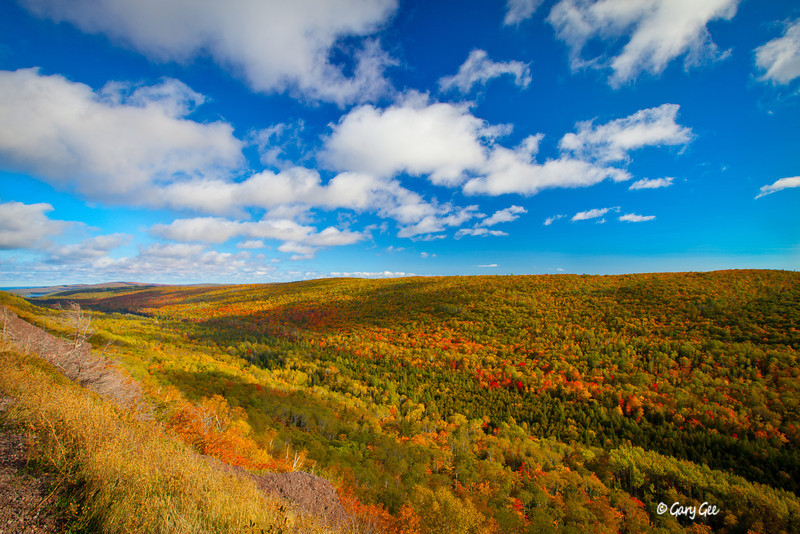 Brockway Mountain Keweenaw Copper Harbor Fall Color in Prime