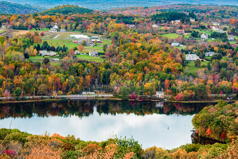 New England Fall/Autumn View