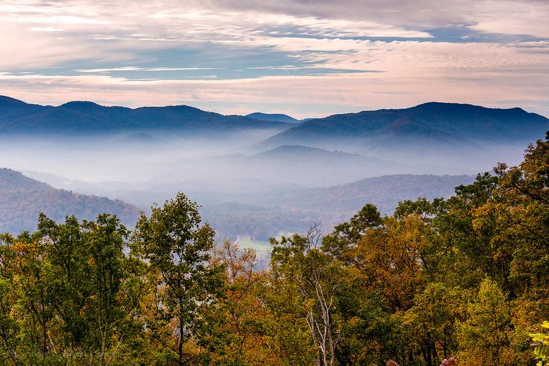 Autumn View (Blue ridge Parkway)
