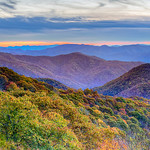 Blue-ridge Parkway sunset
