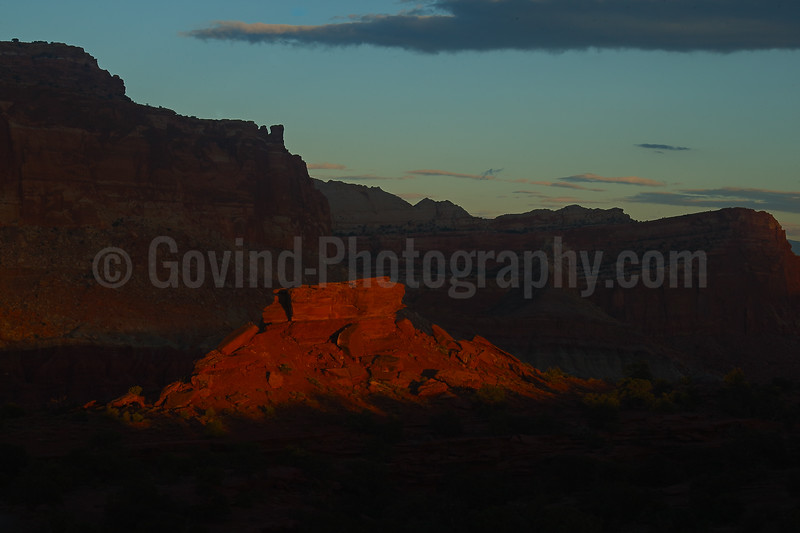 Last Light on th Canyons
