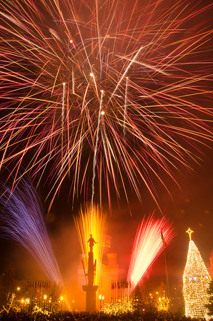 Fireworks - National Day of Romania