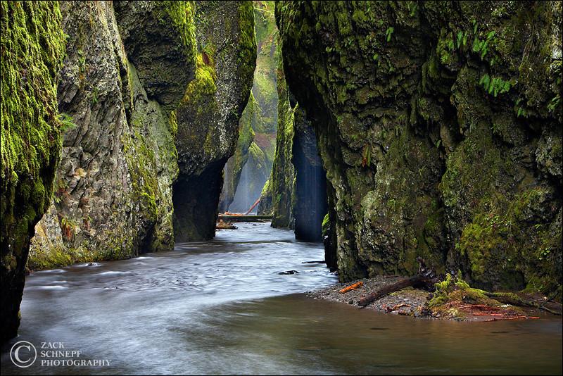 """<font color=""""#FFFFFF"""" size=""""4"""" face=""""Verdana, Arial, Helvetica, sans-serif"""">Oneonta Rainstorm Wide</font><br> Columbia River Gorge, Oregon"""