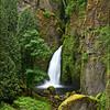 """<font color=""""#FFFFFF"""" size=""""4"""" face=""""Verdana, Arial, Helvetica, sans-serif"""">Wahclella Falls Spring</font><br> Columbia River Gorge, Oregon"""