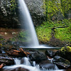 "<font color=""#FFFFFF"" size=""4"" face=""Verdana, Arial, Helvetica, sans-serif"">Ponytail Falls</font><br> Columbia River Gorge, Oregon"