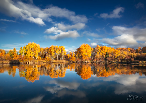 Gold and Blue Bend, Oregon