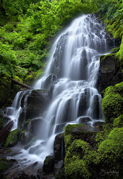 Fairy Falls Columbia River Gorge, Oregon