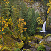 "<font color=""#FFFFFF"" size=""4"" face=""Verdana, Arial, Helvetica, sans-serif"">Wahclella Falls Autumn</font><br> Columbia River Gorge, Oregon"