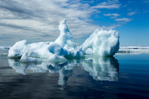 Melting Iceberg, Hudson Bay, Canada