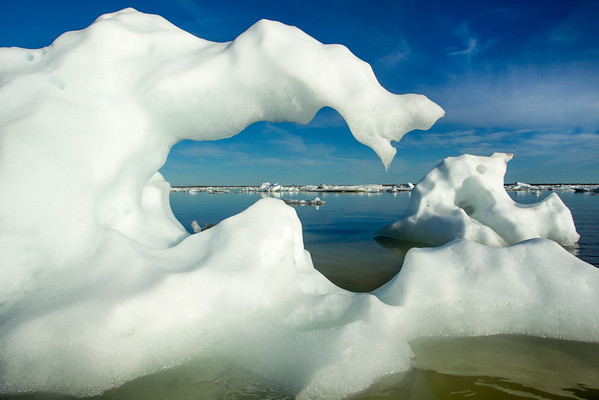 Sea Ice, Hudson Bay, Canada