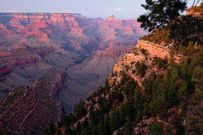 Grand Canyon as the sun sets...