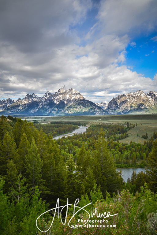 Snake River at the Grand Tetons