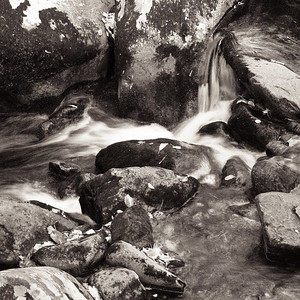 Stream and Rocks - Roaring Fork Nature Trail, Great Smokies National Park, TN