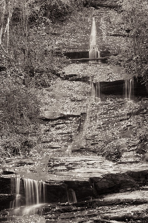 Water Fall - Deep Creek, Great Smokies National Park, NC