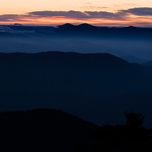 """Islands in the Sky"" - Clingman's Dome, Great Smokies National Park, NC"