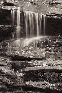 Water Fall Close-Up - Deep Creek, Great Smokies National Park, NC