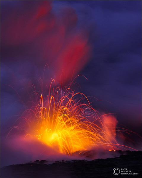 Pele's Fireworks