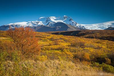 Skaftafell National Park, southeast Iceland