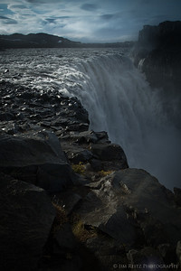 Detifoss, northern Iceland - Europe's most powerful waterfall.