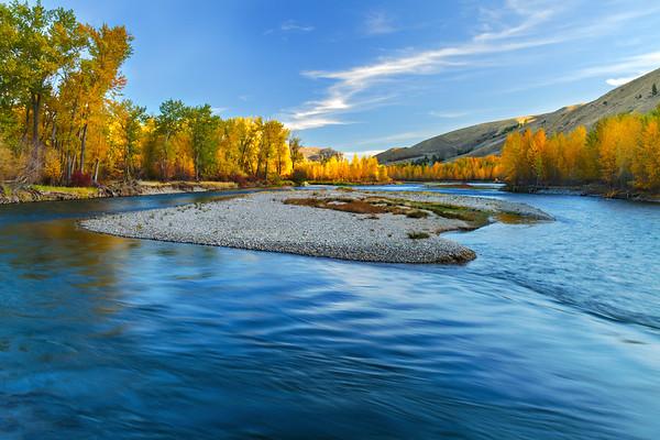 Fall Colors Along The Salmon River