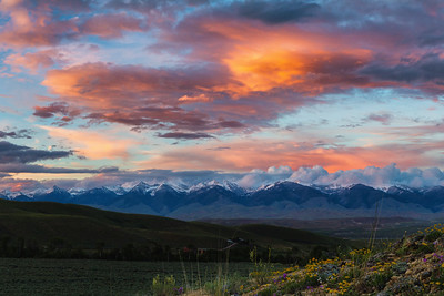 Perreau Creek Sunset