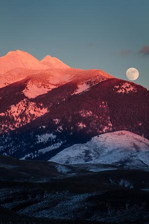 Beaverhead Moonrise