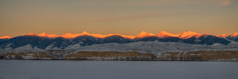 Last Light On The Beaverhead's