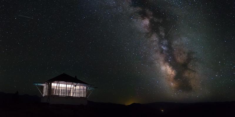 Granite Mountain Lookout Milky Way