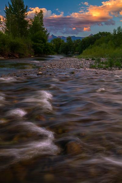 Salmon River Sunset