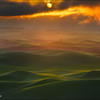 "<font color=""#FFFFFF"" size=""4"" face=""Verdana, Arial, Helvetica, sans-serif"">Rainstorm Sunrise</font><br> Palouse, Washington"
