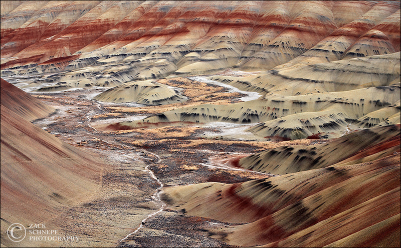 "<font color=""#FFFFFF"" size=""4"" face=""Verdana, Arial, Helvetica, sans-serif"">Painted Valley</font><br> Painted Hills, Oregon"