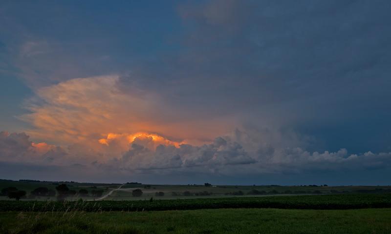 Iowa Storm Clouds