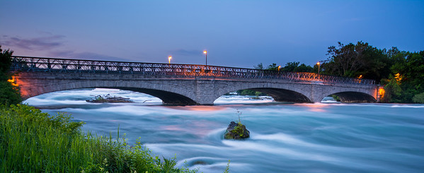 Bridge Over American Falls, Niagara, NY