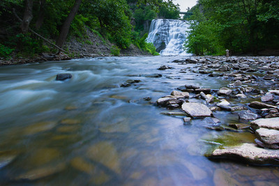 Fall Creek and Ithaca Waterfall II -
