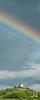 Wurmlinger Kapelle mit Regenbogen, Wurmlingen