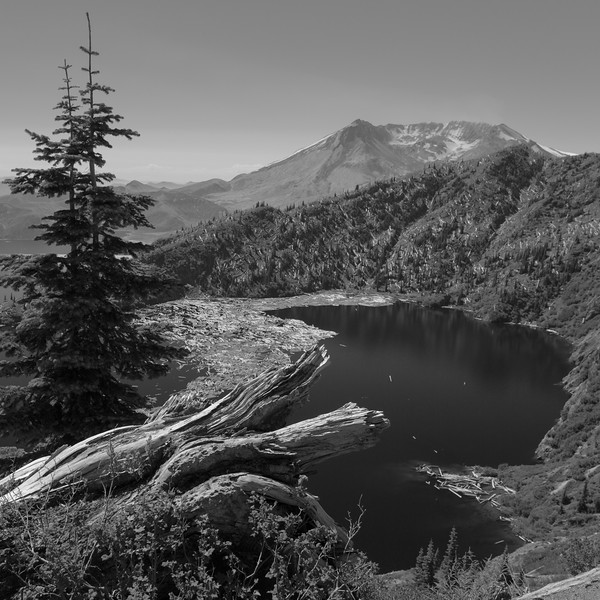 Mount St. Helens and Saint Helens Lake