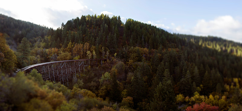 Cloudcroft NM Mexican Caynon Trestle