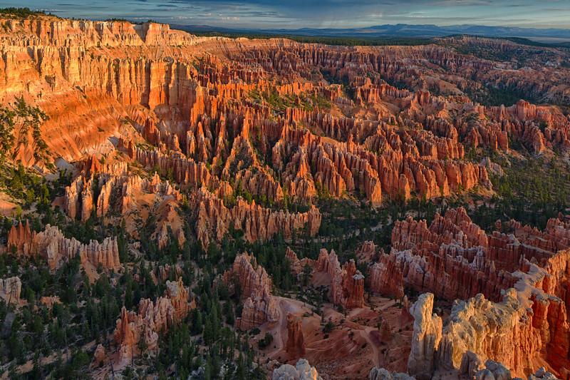 Bryce Canyon Sunrise V: Risen