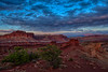 Clearing Storm over Navajo Knobs and the Henry Mountains