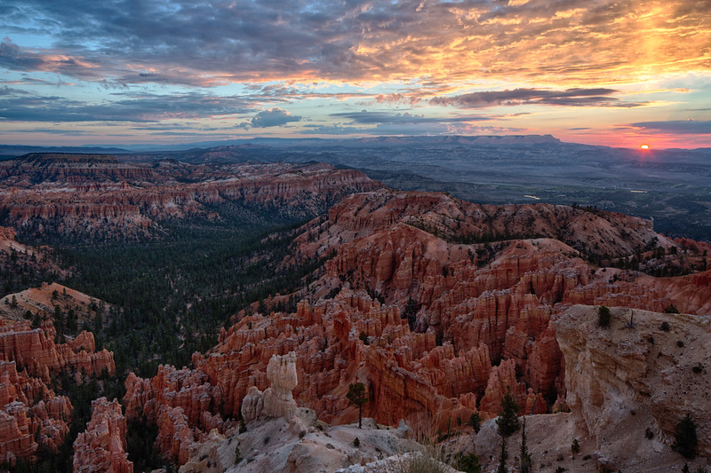 Bryce Canyon Sunrise III: Rising