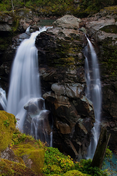 Nooksack Falls<br /> Mt. Baker-Snoqualmie National Forest, WA