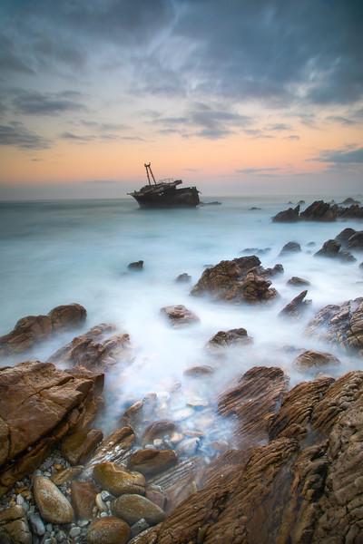 Meisho Maru No. 38 shipwreck, Algulhas, Western Cape 2018