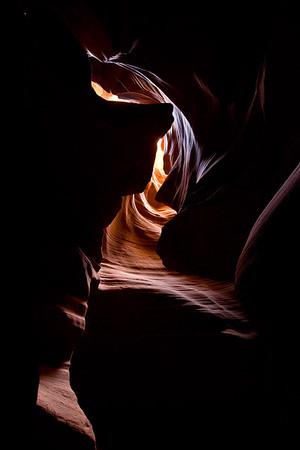 Upper Antelope Canyon, near Page, Arizona