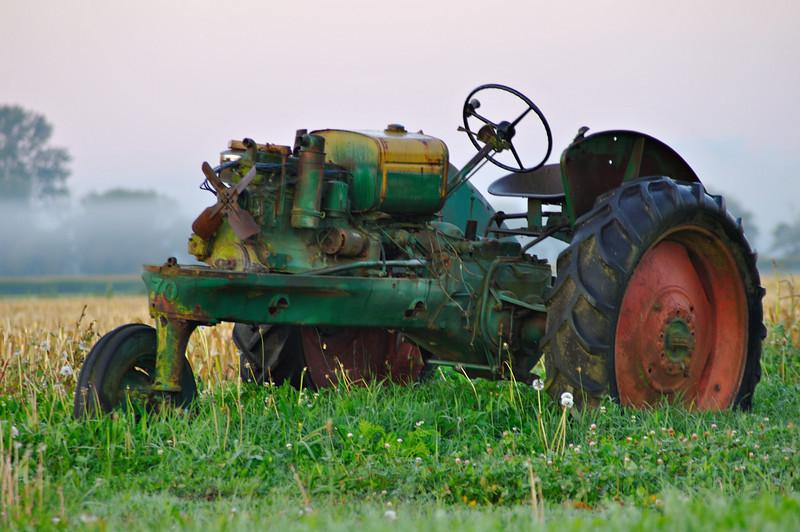 Old Tractor<br /> Whatcom County, WA